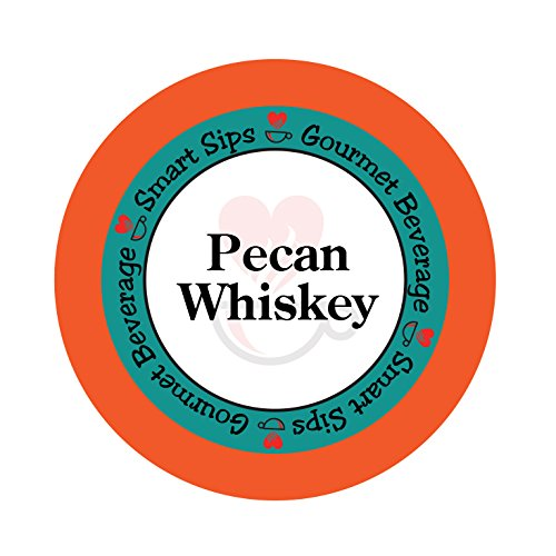 Pecan Whiskey Coffee, 24 Count Compatible With ALL Keurig K-cup ()