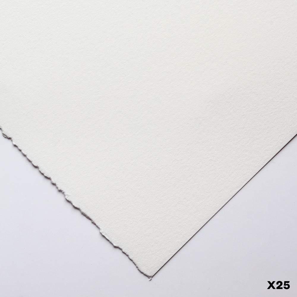 BFK Rives Weiß 56 x 76 280gsm   Silkscreen Printing Paper   25 Pack