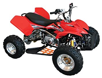 Amazon.com: Baja Motorsports STR125 Storm 125 ATV (Red ... on