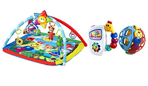 Baby Einstein Caterpillar (Baby Einstein Caterpillar and Friends Play Gym with Take Along Tunes & Bendy Ball)