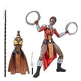 Marvel Figura de Acción Black Panther, Nakia, 6 Pulgadas