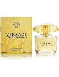 Versace Diamond Eau De Toilette Spray, Yellow, 3 Ounce