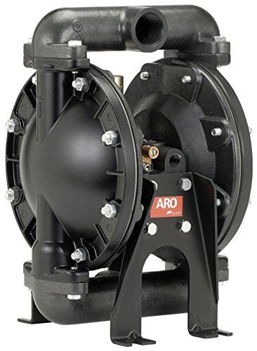 ARO 666100-244-C Aluminum PTFE Single Double Diaphragm Pump, 35 gpm, 120 psi