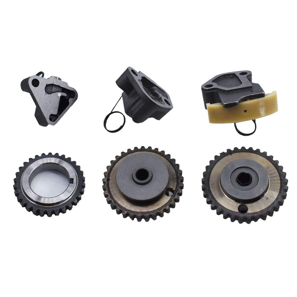 labwork Engine Timing Chain Kit w/Chain Guide Tensioner Sprocket ...