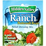 Hidden Valley The Original Ranch Salad Dressing Mix - Buttermilk - 0.4 oz