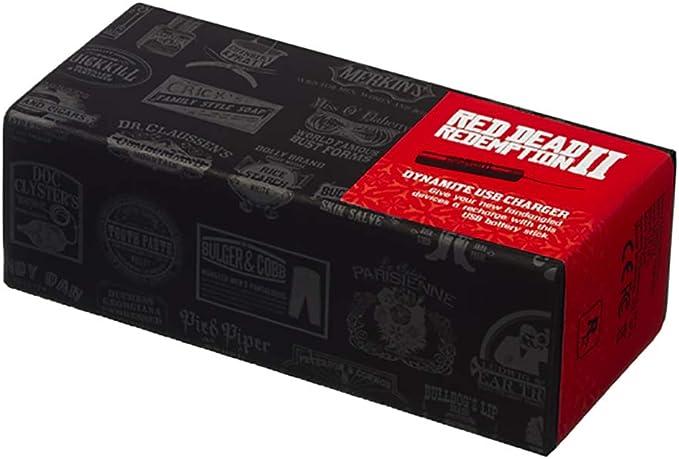 Red Dead Redemption 2 Dynamite Cargador USB Oficial: Amazon.es: Electrónica