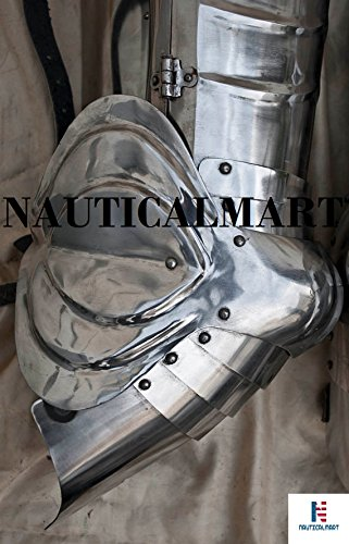 SCA combat leg armor, plate legs, cuisses with poleyns by NAUTICALMART (Image #2)