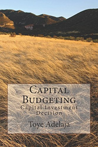 Capital Budgeting  Capital Investment Decision