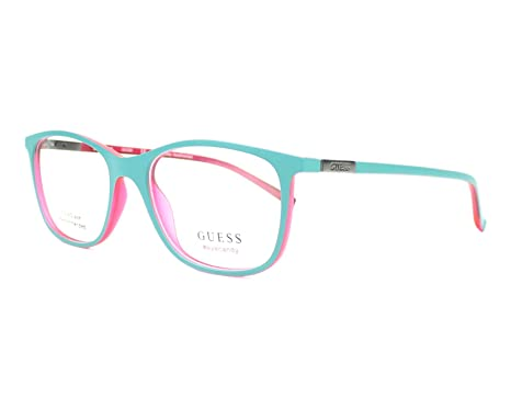 Guess GU 3004 088 51mm Matte Turquoise Eyeglasses