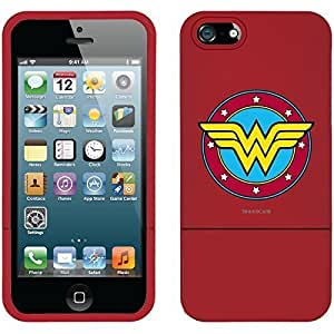 WMSHOPE? iPhone 4 4s Case Cover WONDER WOMAN EMBLEM CIRCULAR RED