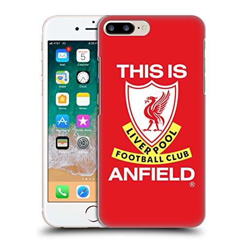 - Official Liverpool Football Club This is Anfield Retro Crest Hard Back Case Compatible for iPhone 7 Plus/iPhone 8 Plus
