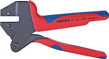Crimp Sistema de alicate para uso sin maletín Knipex l.200 mm sin crimpadora