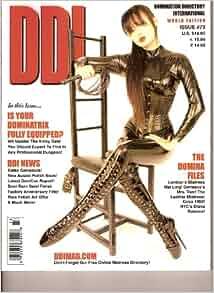 DDI Magazine Domination Directory International #73 World Edition Very Good Plus