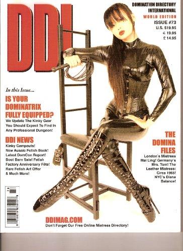 DDI Domination Directory International (#73 2011, fetish Diva Sindy Kat)