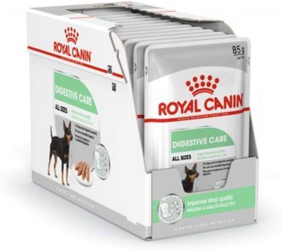 ROYAL CANIN Digestive Care Paté para Perros Comida Húmeda, Caja Completa 12 x Sobres 85 gr: Amazon.es: Productos para mascotas