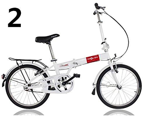 20インチ 折りたたみ自転車 折畳自転車 おりたたみ自転車MTB おりたたみ自転車W320 B00QA16ND6 レッド レッド