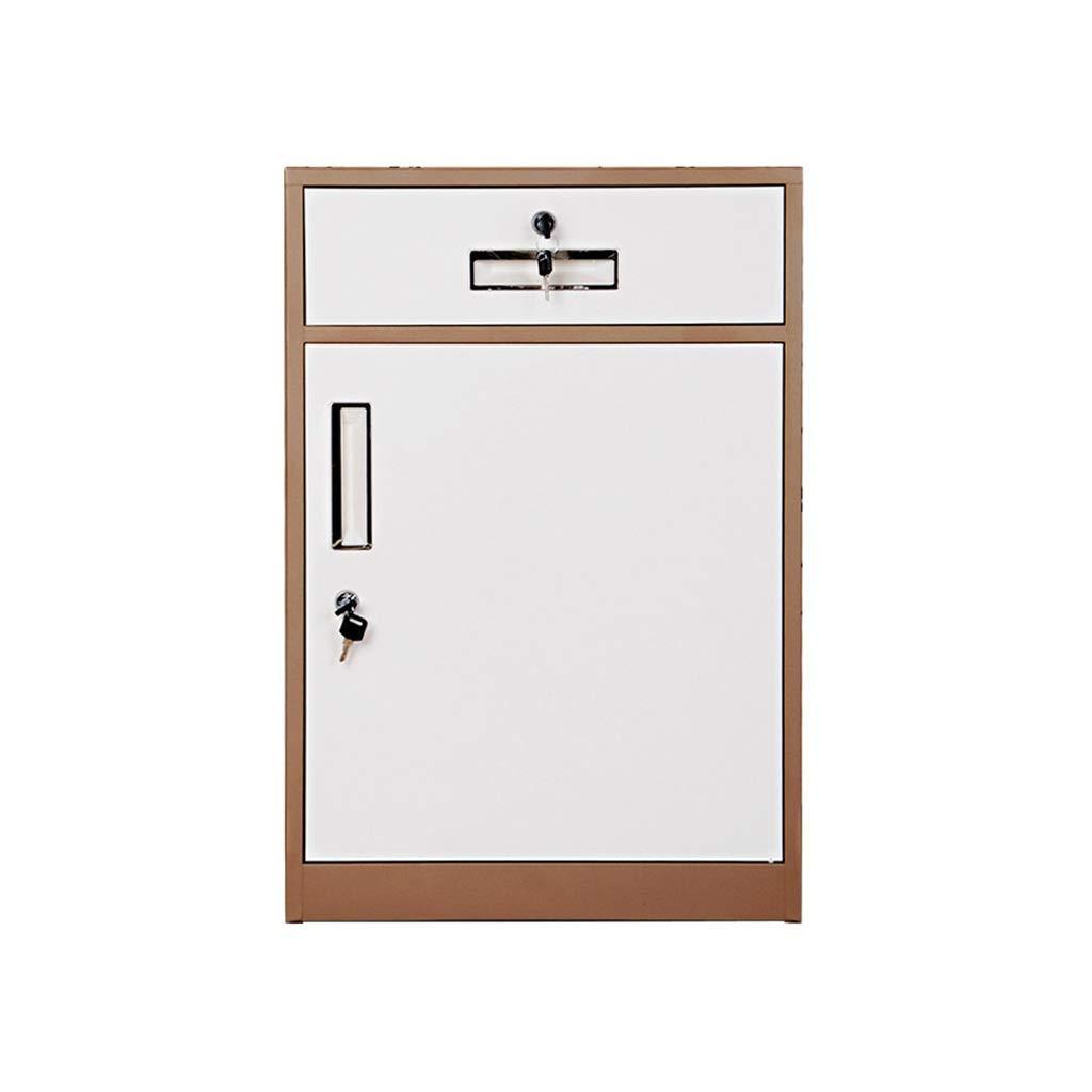 File Cabinet, Desktop Extended Drawer Office Organizer (Steel Plate) 443965CM (Color : E)