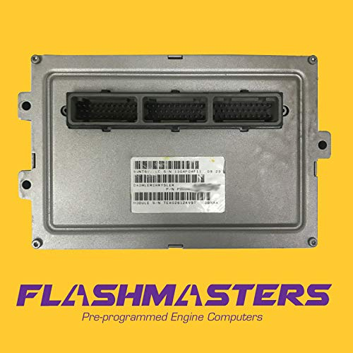 Flashmasters 2000 Compatible for Dodge Dakota 4.7L Computer 56040359 ECU ECM PCM Programmed to Your VIN