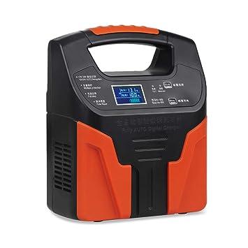 Amazon.com: Cargador de batería para coche y motocicleta, 12 ...