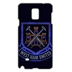Unique Design FC Stoke City FC Team Logo Phone Case Cover For Samsung Galaxy Note 4 3D Plastic Phone Case