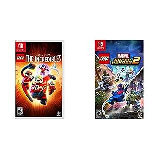 Lego Disney Pixar's The Incredibles - Nintendo Switch & Lego Marvel Superheroes 2 - Nintendo Switch