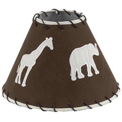 Little Boutique Lamp Shade – Safari (Baby Safari Lamp Shade)