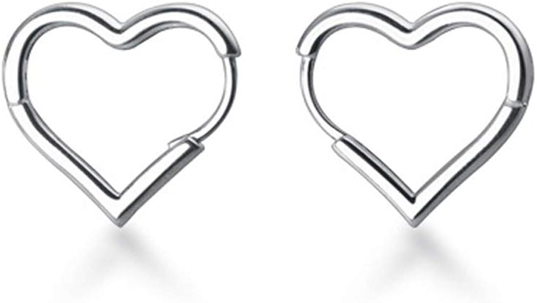 Top 8 Joshua Home Jewlery Silver Heart Earrings