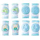 Baby Knee Pads, Oukinakinn Walking Kneepads for crawling Memory Foam Pad Cushion