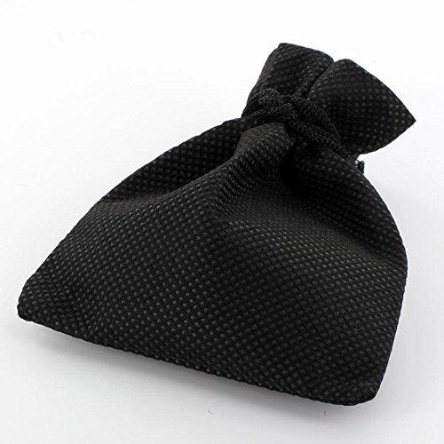 Zense - Boucles d'oreilles homme acier inoxydable noir et vert motif feuille de cannabis ZE0042