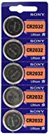 Sony Lithium 3V Batteries CR2032 10 pack
