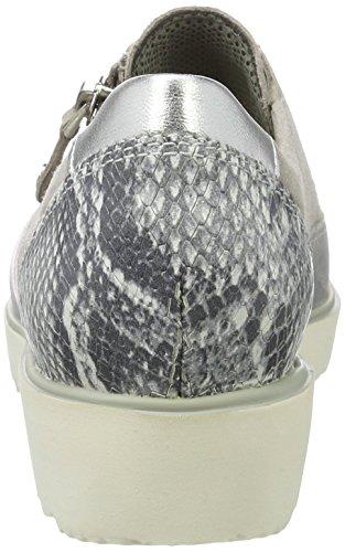 Grau Sneaker silber Donna grey chiara Malmö Ara RC6wqx4q