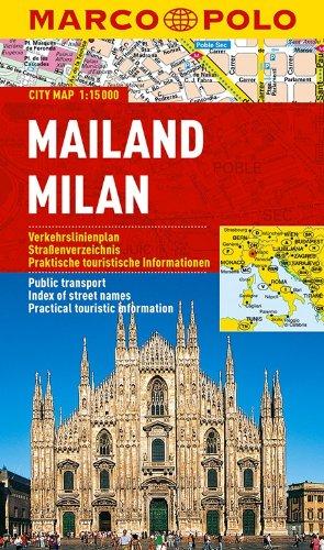 MARCO POLO Cityplan Mailand 1:15 000 (MARCO POLO Citypläne)