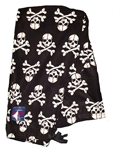 Croft & Barrow Skull & Crossbones Brushed Fleece Sleep Lounge Pants - X-Large