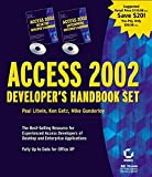 Access 2002 Developer's Handbook Set