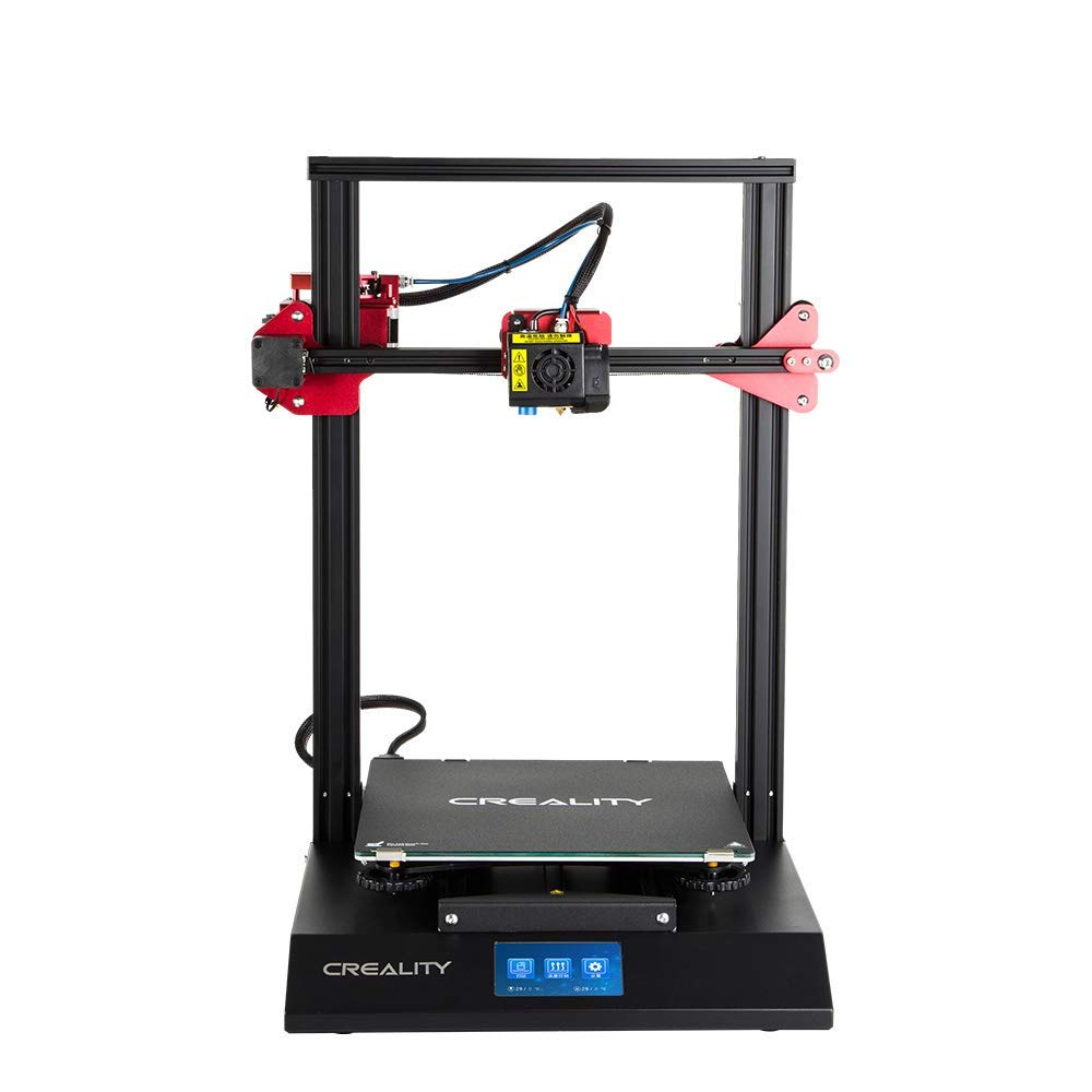 3D Printer Upgraded Cr-10s Pro 310 x320 x 400mm with Auto-level, Touch Screen, Capricorn Ptfe with Creality Pla Filament