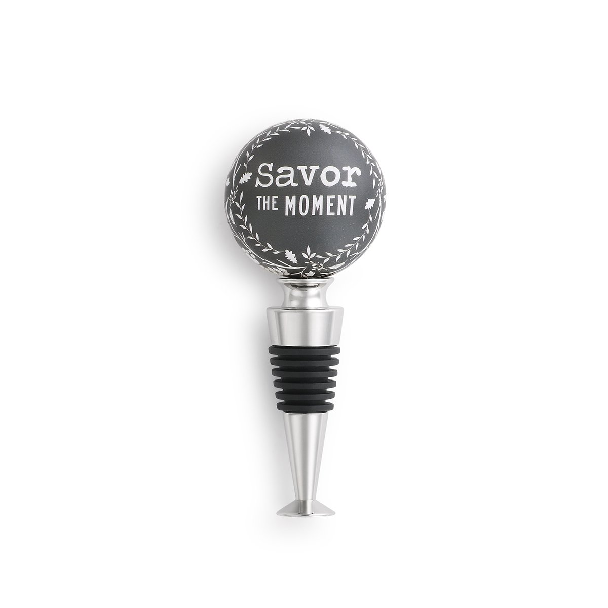 Demdaco 1004180175 Bottle Stopper Black