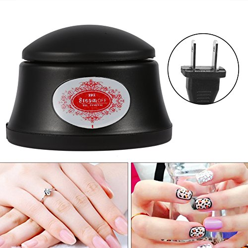 Filfeel Nail Polish Remover Machine, Warm Steamer Manicure Tool Steamed to Remove Nail Gel - Polish Dog Nail Remover
