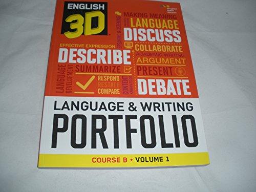 English 3D Language & Writing Portfolio Course B Volume 1