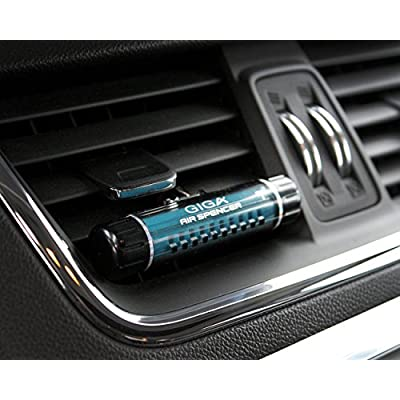 Air Spencer GIGA Clip Car Air Freshener and Refills - Squash Scent: Automotive