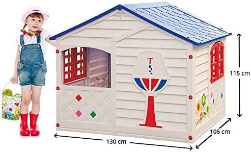 Casette In Resina Per Bambini.Gbshop Casetta Da Giardino Per Bambini Made In Italy Amazon It Giochi E Giocattoli