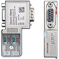 700-972-7BB50 PROFIBUS Connector, with diagnostic LEDs, EasyConnect ¬
