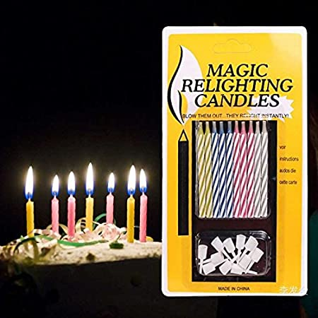 Buy Premsons Magic Relighting Birthday Candles Online At Low Prices In India