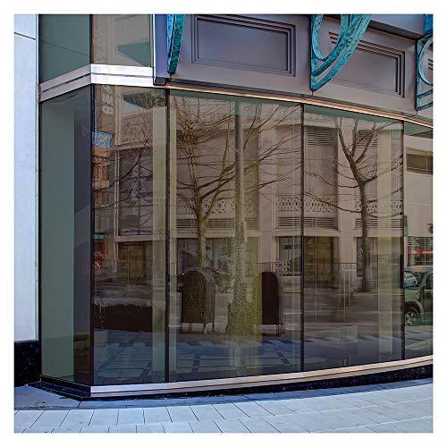 BDF BRZ20 Window Film Bronze Reflective Sun Control and Privacy (Dark) - 36in X 7ft