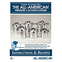 All American 74 Pressure Cooker Canner Instruction Recipe Book
