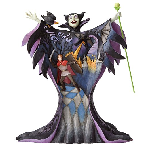 Enesco Disney Traditions by Jim Shore Maleficent with Scene Figurine