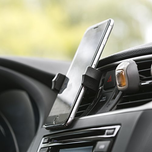 Universal Air Vent Cellphone Mount Holder For Cars | Lightweight, 360° Rotation, Extendable & Durable Mobile Phone Kit For Smartphones, iPhones, GPS, Camera, Portable Music Players & More By IDStore