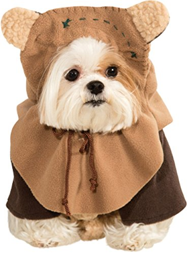 Ewok Wicket Costume (Rubies Costume Star Wars Collection Pet Costume, Medium, Ewok)