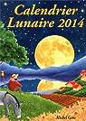 Calendrier lunaire 2014 par Gros