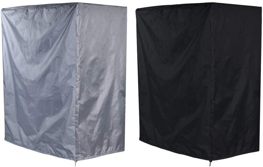 Duokon Small Rectangle Outdoor Garden BBQ Cover Barbecue Gas Grill Cover Outdoor Heavy Duty Protector Waterproof 38.2 44.1 in 22 Black