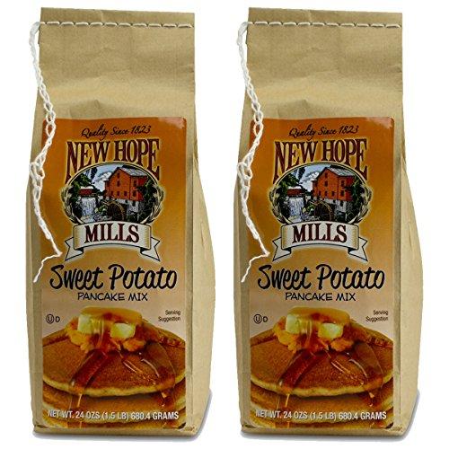 New Hope Mills Sweet Potato Pancake Mix - 24 oz - Kosher(Dairy) - 2 Pack ()
